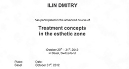 Treatment concepts in the esthetic zone